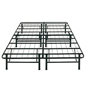 boyd specialty sleep sure sleep queen platform bed frame steel height 14inch provide ample room - Queen Platform Bed Frames