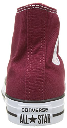 Converse Unisex-Erwachsene Chuck Taylor All Star Hi Hohe Sneakers Rot (Weinrot)