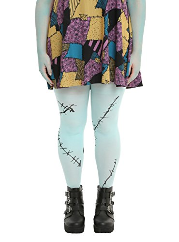 The Nightmare Before Christmas Sally Tights Plus Size