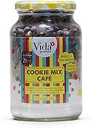 Cookie Mix Gotas Chocolate e Café S/ Glúten 440g