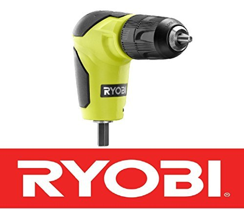 New Ryobi 18 Volt Right Angle 90 Degree Drill Attachment 3/8