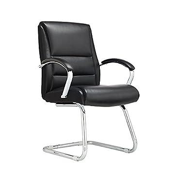 amazon com realspace morgan guest chair black silver item