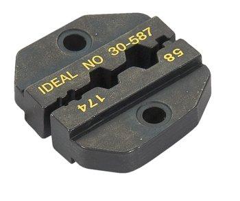 DIE SET/For RG-58, RG-174, RG8218 for CRIMPMASTER Crimp Tool Frame 30-506
