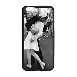 HipsterOne Kissing the War Goodbye Times Square Kiss Case for iPhone 6 Plus (5.5 inch; Laser Technology)