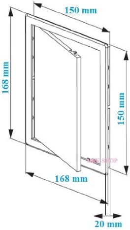 Brown Access Panel 200mm x300mm Inspection Panel Hatch Access Door