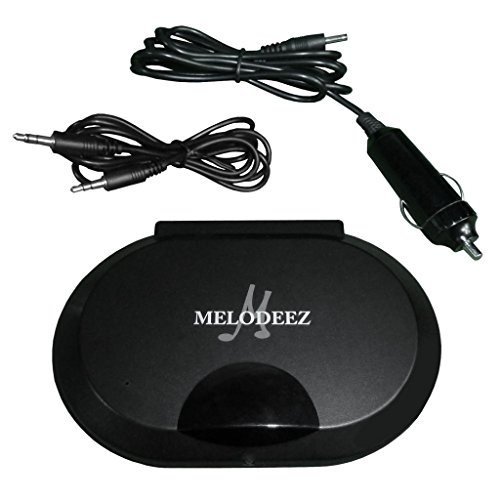 - Melodeez MDZ-IRT-(1) Infrared IR Audio Transmitter For Portable Headrest DVD Players For Wireless Headphone Conversion 12v For in Car Use