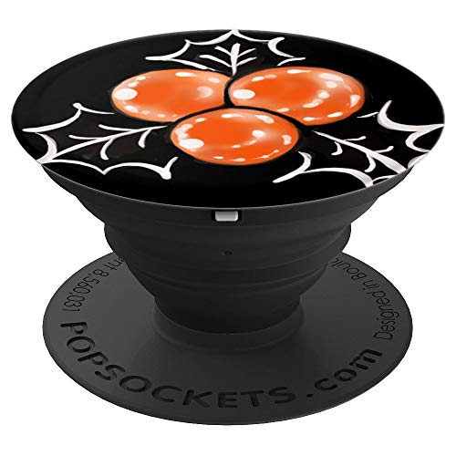 Halloween Holly Berry - PopSockets Grip and Stand for Phones and Tablets -