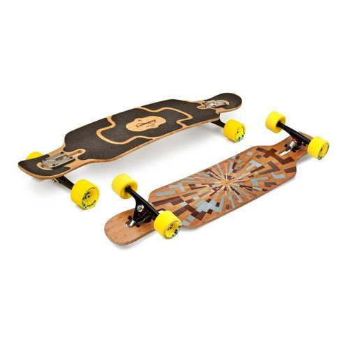 Loaded Tan Tien Flex 1 Complete Longboard Skateboard by Loaded