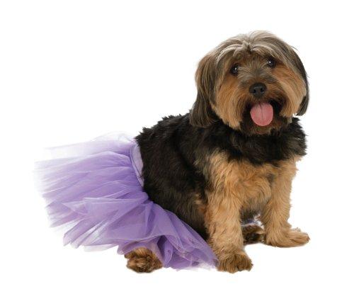 Rubie's Pet Tutu, Purple, Small/Medium -