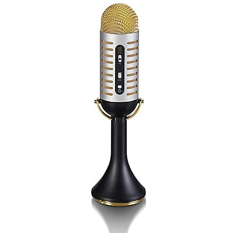 FAO Schwarz Vintage Bluetooth-Enabled Musical Microphone Toy