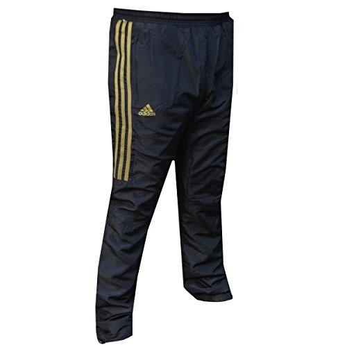 Adidas Stripes Nero Tuta Gold Pantaloni ZqWZrH
