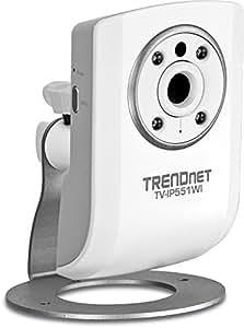 TRENDNET Cámara IP WiFi-N 150 + visión nocturna TV-IP551WI