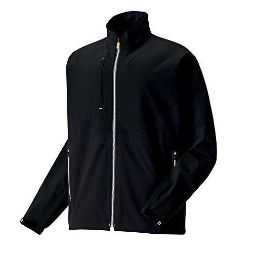 FootJoy DryJoy LTS Golf Rain Jackets (Large, Black/White) from FootJoy