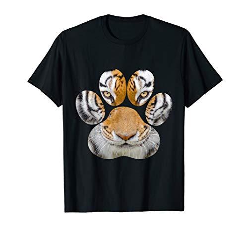 (Tiger Eyes Paw Animal Cat Cheetah Leopard Lion Print)