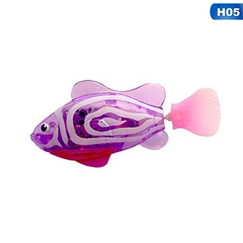 1pcs Children Swiming Water Toys Fish Colorful LED Light Fla
