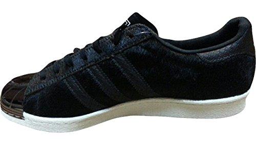 """Adidas Originals Superstjerne 80'er Metal Tå Unisex Sko """"pony Hår 6Kej9e"""