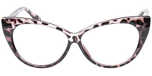 SOOLALA 3-Pair Value Pack Fashion Designer Cat Eye Reading Glasses for Womens, 1.5D by SOOLALA (Image #6)