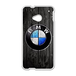 BMW For HTC One M7 Cell Phone Case White BTY658890