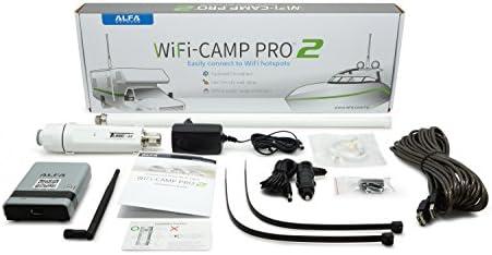 Alfa Network Wifi-Camp Pro 2 Kit Completo Para Exterior