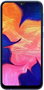 "Samsung Galaxy A10 (32GB, 2GB RAM) 6.2"" HD+ Infinity-V Display, Global 4G LTE Dual SIM GSM Factory Unlocked A105M/DS (International Model w/ 32GB MicroSD Bundle) (Black)"
