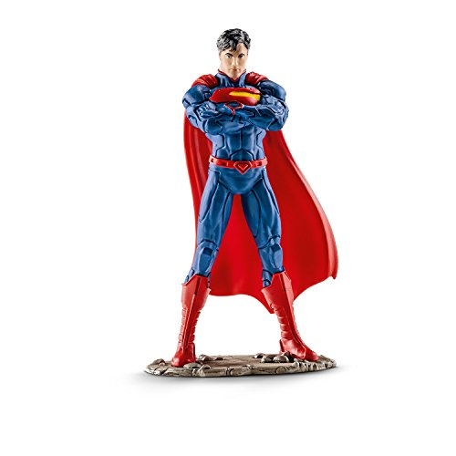 Schleich Superman Standing Action (Girls Superhero Costumes Next Day Delivery)
