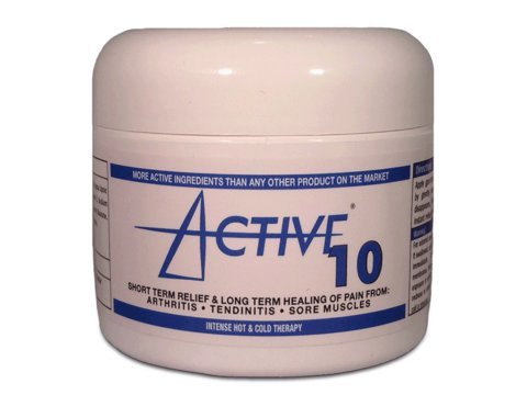 Active 10 Pain Relief and Healing Cream (2oz)