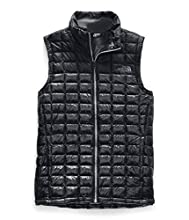 The North Face Women's Thermoball Eco Vest, TNF Black Matte Shine, Large