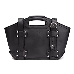 Saddleback Leather Small, Tote Bag in Black