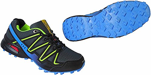 Damen Herren Laufschuhe Sportschuhe Turnschuhe Sneaker Schuhe 36 - 46 Art.-Nr.1616-10 grau-blau-lime
