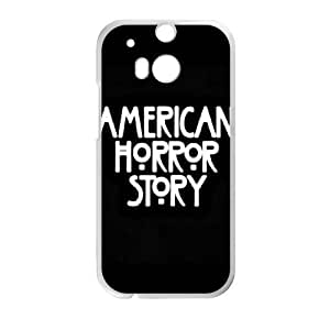 HTC One M8 Phone Cases White American Horror Story BCH004263