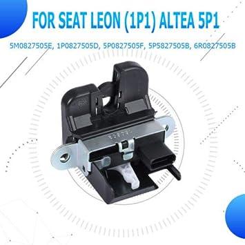 Hatchback cerradura pestillo mecanismo actuateur para maletero para Seat Leon (1P1) Altea 5P1: Amazon.es: Coche y moto