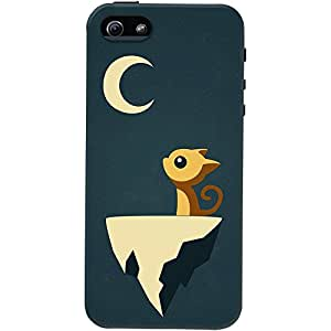 DailyObjects Moon Cat Case For iPhone SE