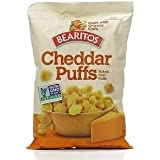 Bearitos Cheddar Puffs, 4oz Bag (Pack of 3)