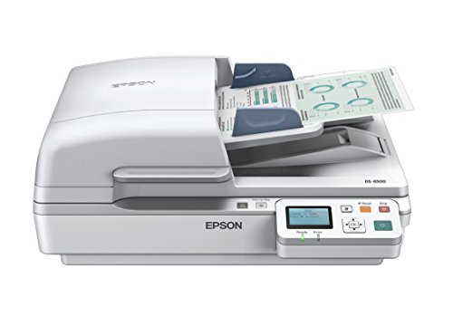 Epson DS-6500 Document Scanner:  25ppm, TWAIN & ISIS Drivers, 3-Year Warranty with Next Business Day Replacement by Epson