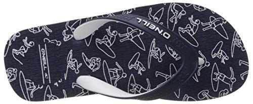 ONeill Jungen Fb Profile Graphic Flip Flops Dusch-& Badeschuhe Bleu (Ink Blue)