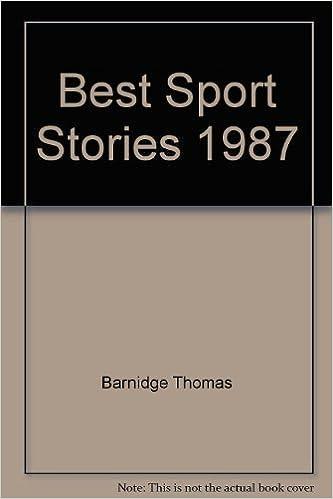Best Sport Stories 1987