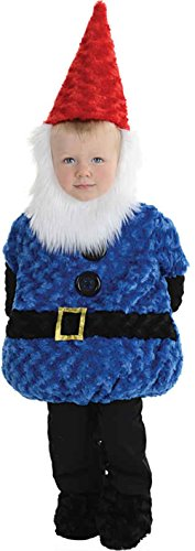UHC Fuzzy Gnome Outfit Toddler Kids Fancy Dress Halloween Costume, M (18-24M) (Gnome Girl Costume For Toddlers)