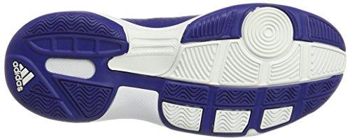 adidas Essence Indoor Feldhockeyschuhe Blau Weiss