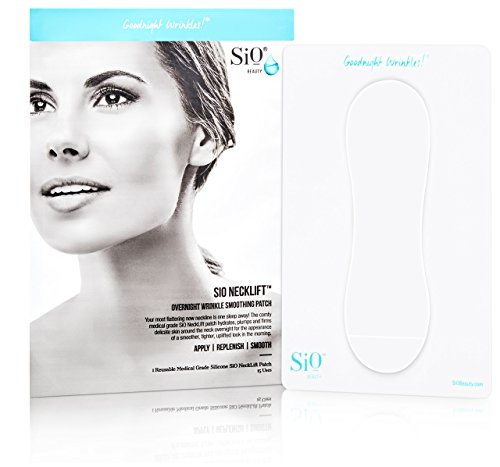 Price comparison product image SiO NeckLift | Neckline Anti-Wrinkle Patch | Overnight Smoothing Silicone Patches For Neck Wrinkles, Fine Lines And Turkey Neck