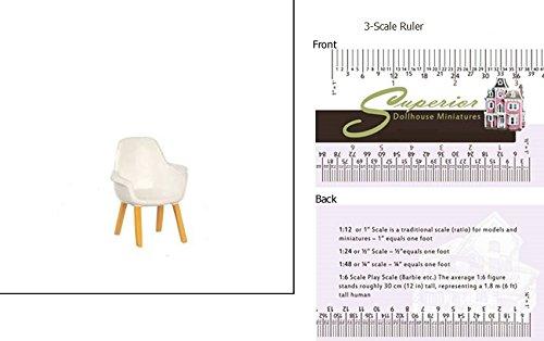 Price comparison product image Dollhouse Miniature Organic Chair / saarinen