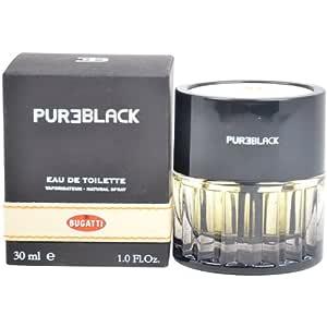 Amazon.com : Bugatti Pure Black Eau de Toilette Spray for Men : Beauty