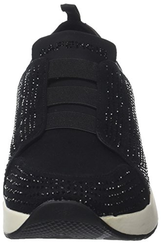CafèNoir Kda913, Sneaker Infilare Donna Nero (Nero)