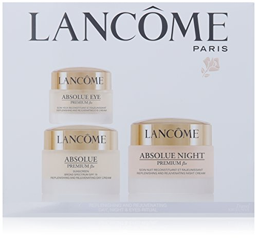 (Lancome Absolute Premium Bx Replenishing And Rejuvenating Day-Night and Eyes Ritual Set)