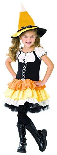 Kandy Korn Witch Child Costume - Small - Kandy Korn Witch