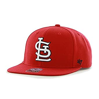 47 MLB St Louis Cardinals Sure Shot Captain Gorra de béisbol, Rojo ...