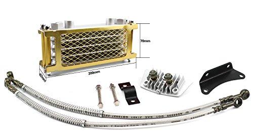 Oil Cooler Cooling Radiator 50cc-125cc Horizontal Engine Dirt/Pit Bike Monkey