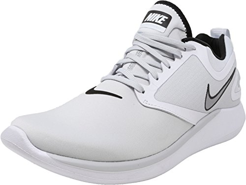 Platinum Shoe Grey Lunarsolo Pure Running NIKE Men's white Wolf PqwtXXR