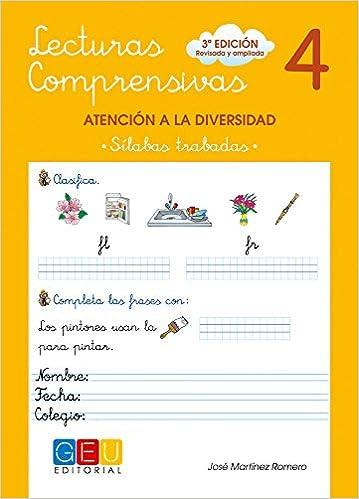 Lecturas Comprensivas 4 - Sílabas Trabadas por José Martínez Romero epub