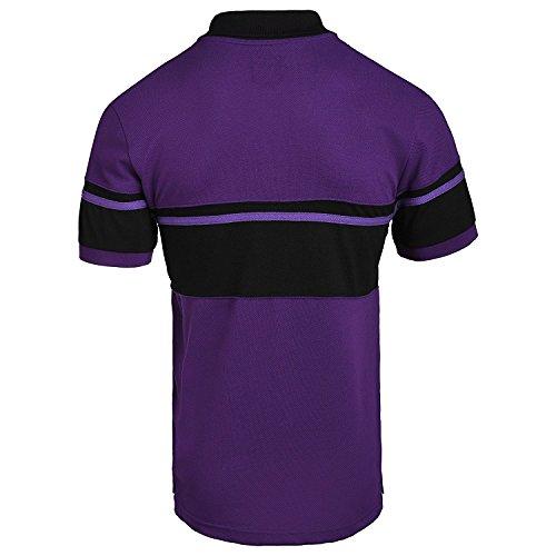 FOCO NFL Baltimore Ravens Football Team Logo Cotton Stripe Polo Shirt, Team Color, XX-Large -