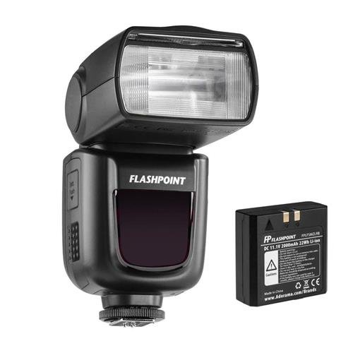 Flashpoint Zoom Li-on R2 TTL On-Camera Flash Speedlight for Canon (V860II-C)